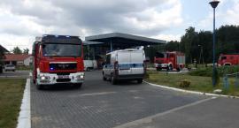 Wybuchł gaz na stacji paliw pod Ciechanowcem