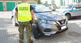 Nissan skradziony we Włoszech odzyskany przez podlaskich pograniczników
