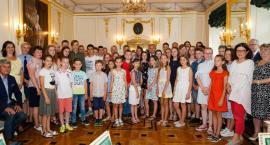 Pałacyk Gościnny odwiedziły dzieci z Białorusi