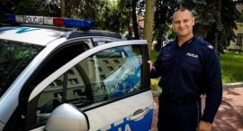 Dzielnicowy z Łap najbardziej pomocnym policjantem