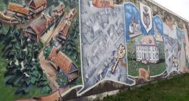 Historyczny mural w Choroszczy jest odnawiany