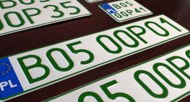 Wydawane są nowe tablice rejestracyjne – z zielonym wydrukiem