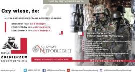 Wojskowi poszukają rekrutów w Mońkach
