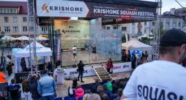 Na Rynku Kościuszki trwają zmagania w squasha