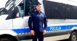 Policjant z Białegostoku zapobiegł śmierci nastolatki