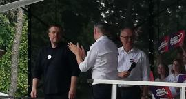 Trzech tenorów lewicy w Białymstoku: Czarzasty, Biedroń i Zandberg