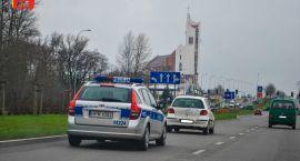 Policyjny radiowóz dachował