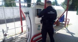 Podlascy funkcjonariusze ścigają na Mazowszu - kolejna stacja autogazu trafiona