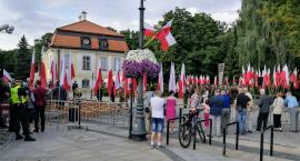 Uroczystości pod pomnikiem bardzo skromnie i bez udziału duchownych katolickich