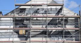 W Suwałkach powstaje patriotyczny mural