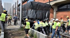 Dwuosiowy wagon towarowy wrócił do muzeum po remoncie