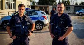 Mniej niż godzinę zajęło policjantom odnalezienie starszego mężczyzny
