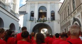 Pielgrzymi z Białegostoku dotarli do Ostrej Bramy