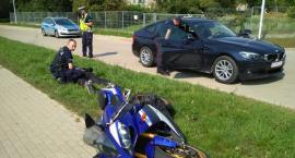 Po pościgu policjanci zatrzymali motocyklistę na Trasie Generalskiej