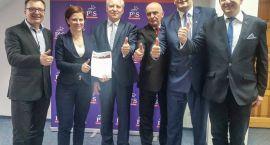 Samorządowcy udzielili poparcia Janowi Dobrzyńskiemu