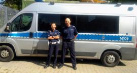 Policyjne małżeństwo pomogło na Słowacji rannemu w wypadku mężczyźnie