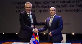 Republika Serbska Bośni i Hercegowiny i województwo podlaskie podpisały umowę o współpracy