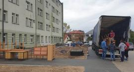 Materialna pomoc dotarła do łapskiego szpitala