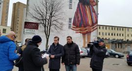 Mural z dziewczynką promuje miasto lepiej niż logo Wschodzący Białystok