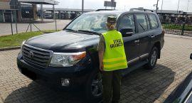 Kradziona Toyota zatrzymana na granicy