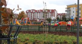 W łomżyńskim parku Jana Pawła II wiele się ostatnio zmieniło