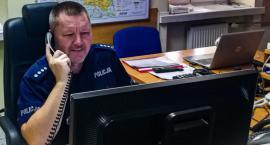Dyżurny policjant z Białegostoku zapobiegł tragedii w Wielkiej Brytanii