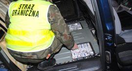 Pogranicznicy udaremnili przemyt papierosów