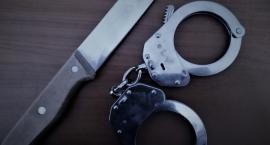 Augustowscy policjanci zatrzymali nożownika