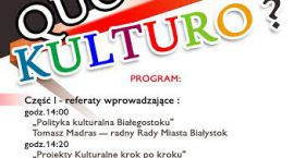 Quo Vadis Kulturo?