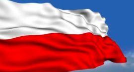 Srebro z ogniem symbolami Polski
