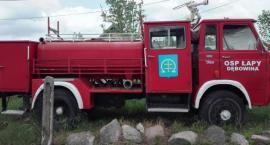 Zabytkowy strażacki Star jest do kupienia. Gmina Łapy wystawiła go na sprzedaż
