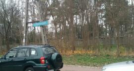 Nowy parking przy cmentarzu prawosławnym parafii Wszystkich Świętych