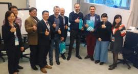 Tajwańczycy przyglądali się produkcji w podlaskich fabrykach