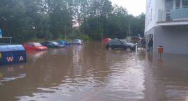 Białystok i wielkie sprzątanie po potopie. Dziś może być powtórka
