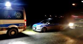 Nocą policjanci odnaleźli zagubionego grzybiarza. Na szczęście nic mu się nie stało