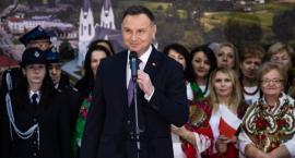 Prezydent Andrzej Duda spotkał się z mieszkańcami południa naszego regionu