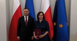 Prof. Małgorzata Dajnowicz z UwB odebrała nominację profesorską