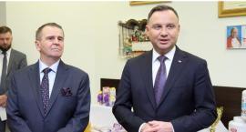 W trakcie swojej wizyty na Podlasiu prezydent Duda odwiedził Mlekovitę