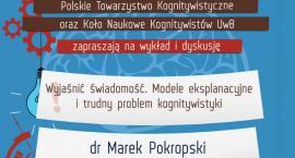 Dr Marek Pokropski na spotkaniu z kognitywistyką
