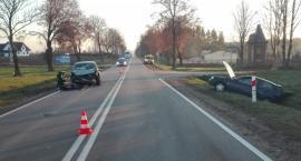 Groźne zdarzenia drogowe na podlaskich drogach. Do szpitali trafiło 4 rannych