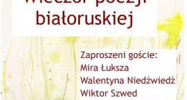 Wieczór poezji białoruskiej