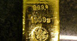 Sztaba złota na wyciągnięcie ręki