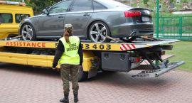 Ujawniono przemyt i odzyskano Audi A6