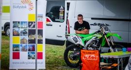 Motocrossowiec promuje Białystok
