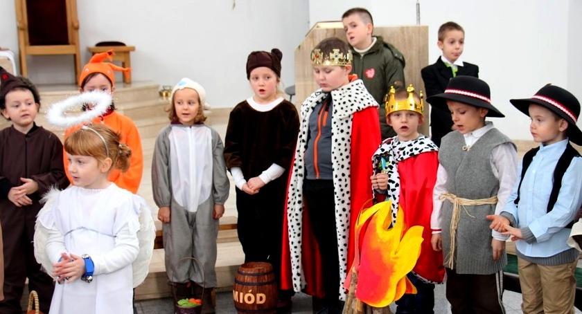 przedszkola, PRZEDSTAWIENIE JASEŁKOWE BLIZNEM - zdjęcie, fotografia