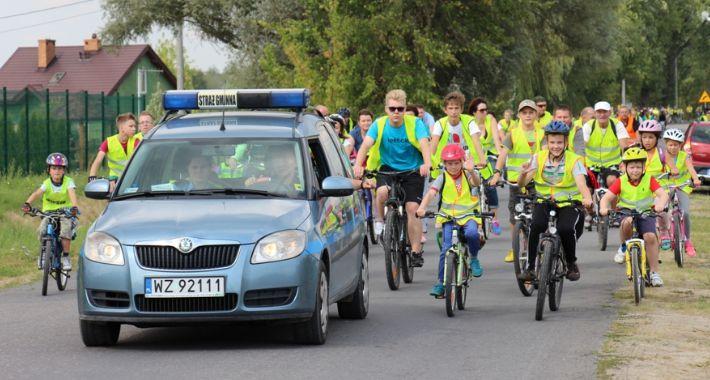 kolarstwo-szosowe-terenowe-mtb, REKORDOWA FREKWENCJA RAJDZIE ROWEROWYM - zdjęcie, fotografia