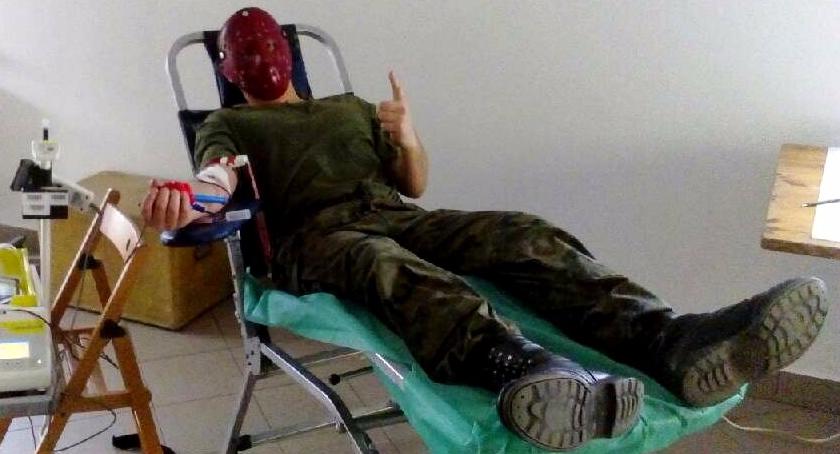krwiodawstwo, WOJSKOWA AKCJA KRWIODAWSTWA - zdjęcie, fotografia