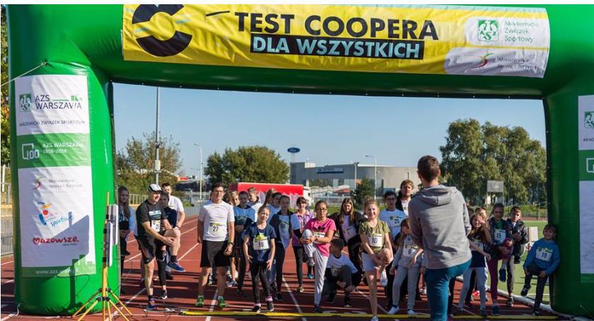 bieganie, Coopera Targówku - zdjęcie, fotografia