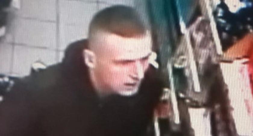 Na Sygnale , Policja szuka sprawcy kradzieży Poznajecie mężczyznę - zdjęcie, fotografia