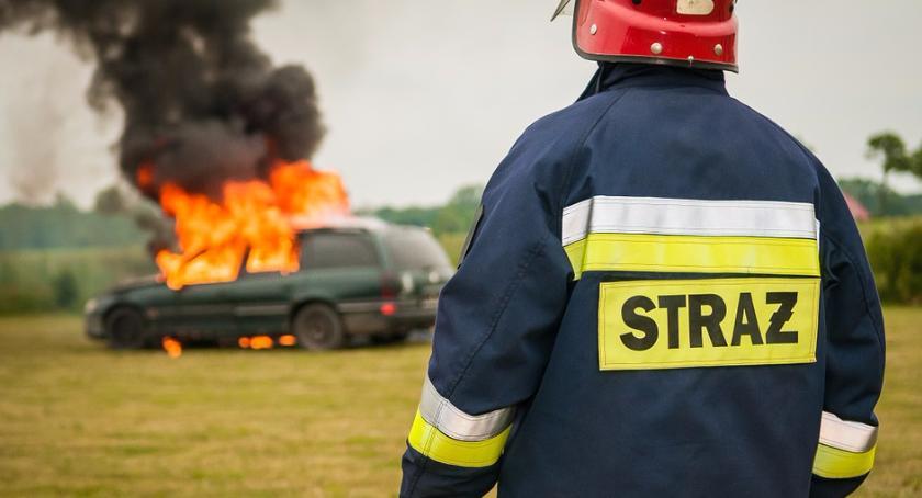 bezpieczeństwo, Pożar galerii Rembielińska - zdjęcie, fotografia
